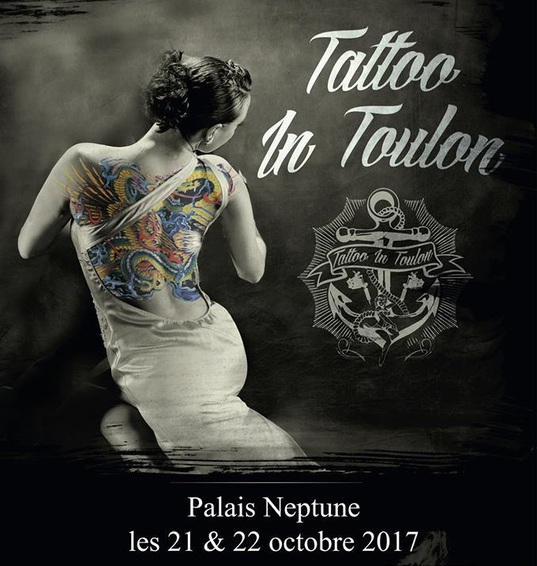 afiche salon tattoo in toulon