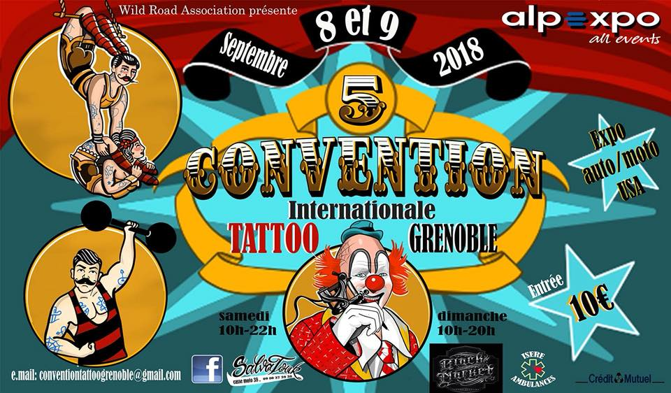 photo de convention tatouage grenoble
