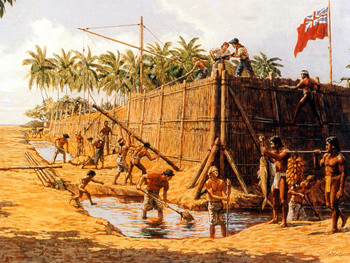 fort george a tubuai
