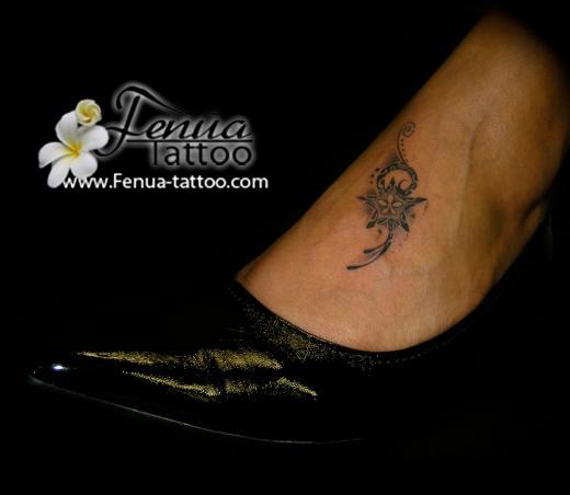 44°) etoile polynesienne - tatouage polynésien - tatoouages fenua tattoo