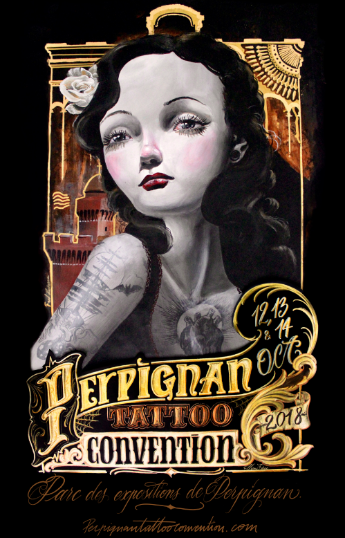 photo de salon de tattoo perpignan