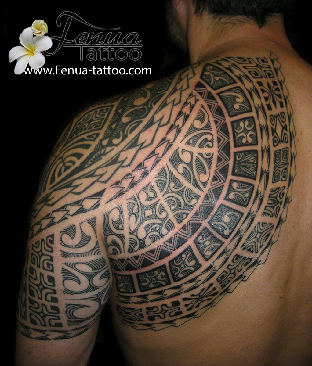 photos de tatouage polyn sien tattoo polynesien. Black Bedroom Furniture Sets. Home Design Ideas